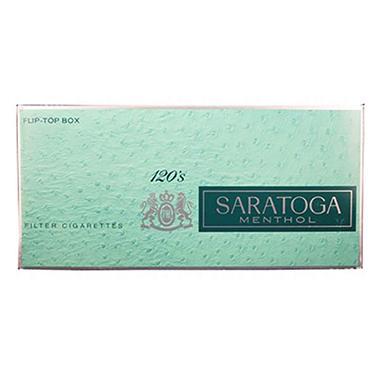 Saratoga Menthol 120s Box - 200 ct.
