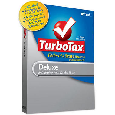 TurboTax Deluxe + State 2010