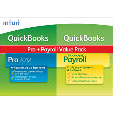 QuickBooks Pro 2012 with Enhanced Payroll 2012