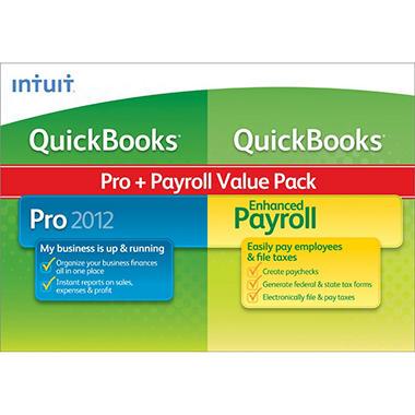 QuickBooks Pro 2012 with Enhanced Payroll 2012
