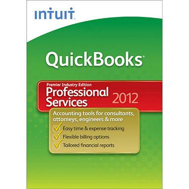 QuickBooks Premier Professional Services 2012
