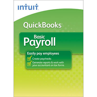 QuickBooks Payroll Basic 2012