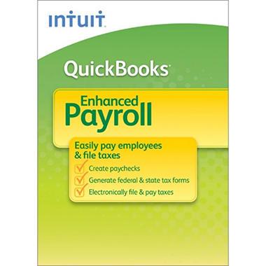QuickBooks Payroll Enhanced 2012