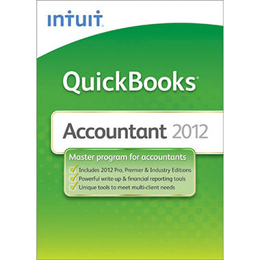 QuickBooks  Accountant 2012