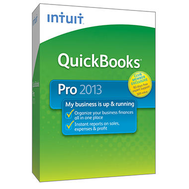 Intuit QuickBooks Pro 2013 + 90 Days of Tech Support