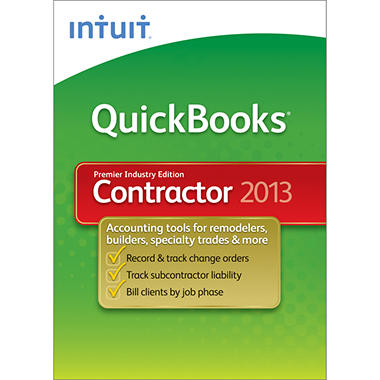 *Instant Savings* Intuit QuickBooks Premier Contractor 2013