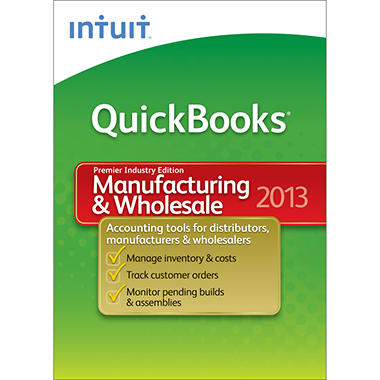 *Instant Savings* Intuit QuickBooks Premier Manufacturing & Wholesale 2013