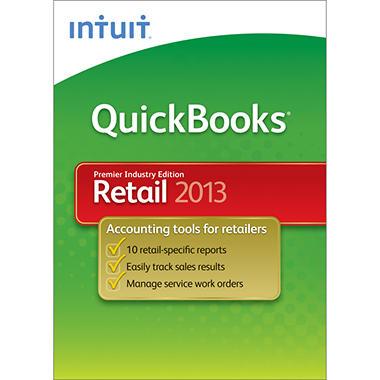 Intuit QuickBooks Premier Retail 2013