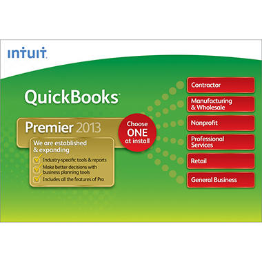 Intuit QuickBooks Premier Industry Editions 2013