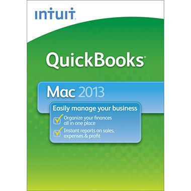 Intuit QuickBooks Mac + 3 Mo of Support 2013