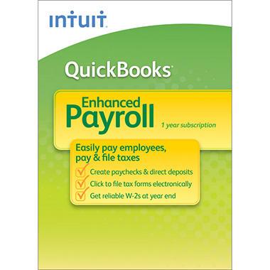 Intuit QuickBooks Payroll Enhanced 2013