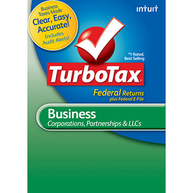 TurboTax Business Fed + E-File 2012