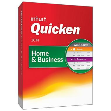 Quicken Home & Business 2014
