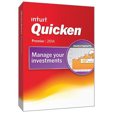 Quicken Premier 2014