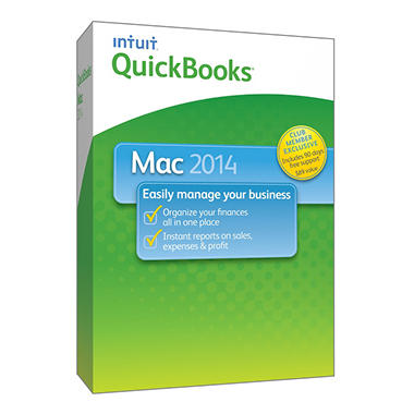QuickBooks Mac with 90 day Support 2014