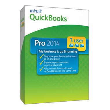 QuickBooks Pro 3 User 2014