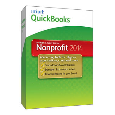 QuickBooks Premier Non Profit 2014