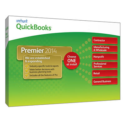 QuickBooks Premier Industry Editions 2014