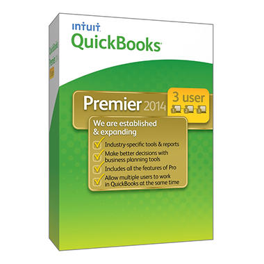 QuickBooks Premier Industry Editions 3 User 2014