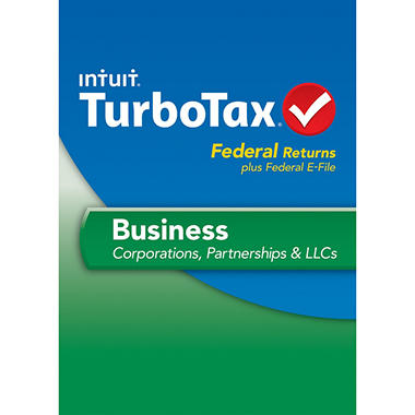 TurboTax Business Federal + E-File 2013