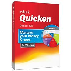 Quicken Deluxe 2015