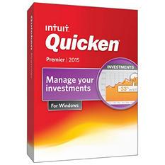 Quicken Premier 2015