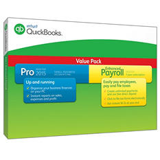 QuickBooks Pro with Enhanced Payroll 2015