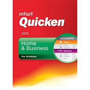 Quicken Home & Business Edition