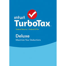TurboTax Deluxe Edition