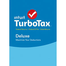 TurboTax Deluxe + Federal + State Edition