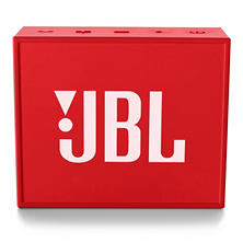 JBL GO Bluetooth Speaker (2-Pack), Built-in Speakerphone with 5-Hour Rechargeable Battery, Available in Red or Blue