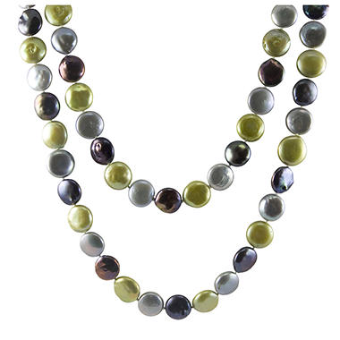 12-13mm Freshwater Coin Pearl Necklace
