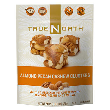 True North® Almond Pecan Cashew Clusters - 24 oz.