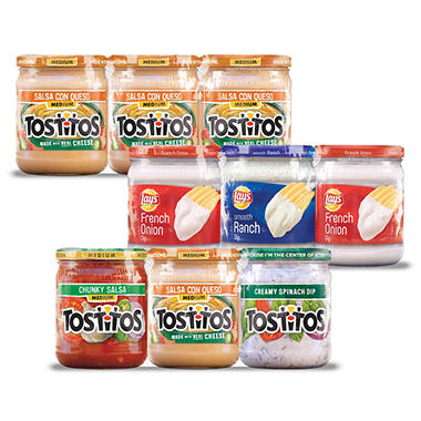 Frito-Lay® Assorted Dip Varieties - 3 ct.