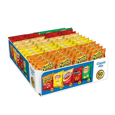 Frito Lay Classic Mix Variety Pack - 1 oz. - 50 ct.