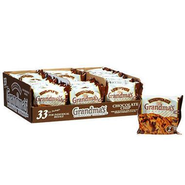 Grandma's® Chocolate Chip Cookies - 33 pks.