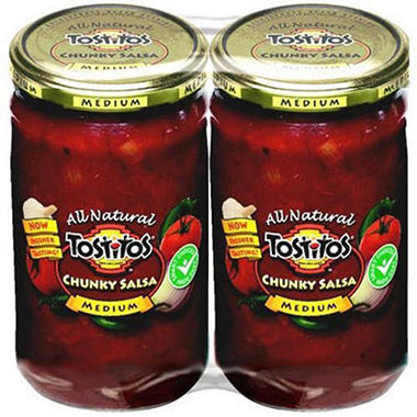 Tostitos® Medium Chunky Salsa - 2ct