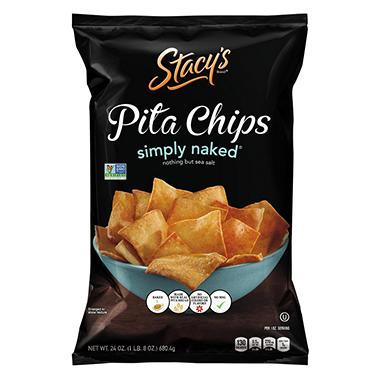 Stacy's Simply Naked Pita Chips  -  24 oz.