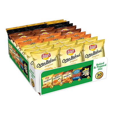 Frito Lay Baked & Popped Mix Variety Pack - 30 ct.