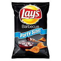 Lay's Barbecue Flavored Potato Chips, Party Size (15.25 oz.)