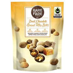 Rare Fare Foods Dark Chocolate Almond Toffee Bites (20 oz.)