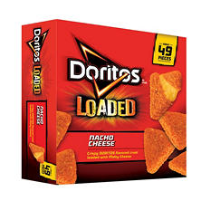 Doritos Loaded Nacho Cheese Breaded Cheese Snacks (45 oz.)