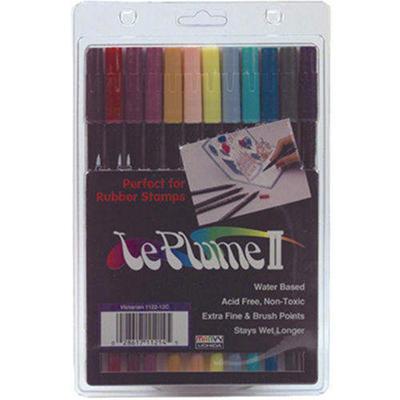 Leplume II Markers 12/Pkg-Victorian