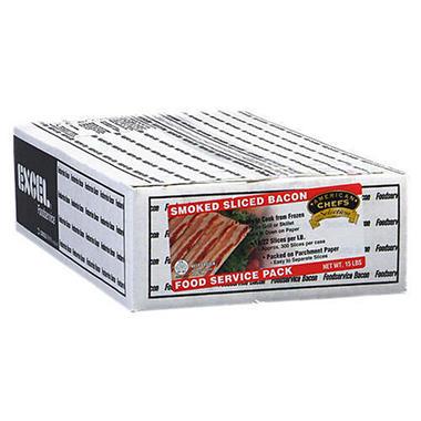 BACON 15LB BOX