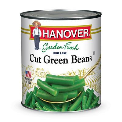 Hanover Cut Green Beans - 101 oz.