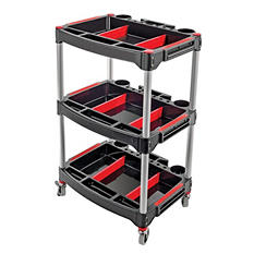 Tool House 3 Shelf Utility Cart