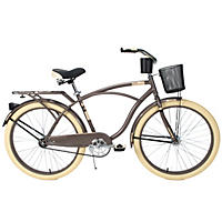 Huffy Men's Deluxe Cruiser, Charcoal