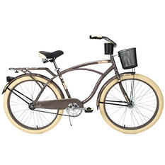 "Huffy 26"" Deluxe Cruiser Bike - Charcoal"