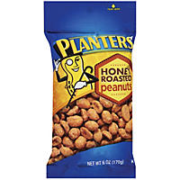 Planters Honey Roasted Peanuts (6 oz.)