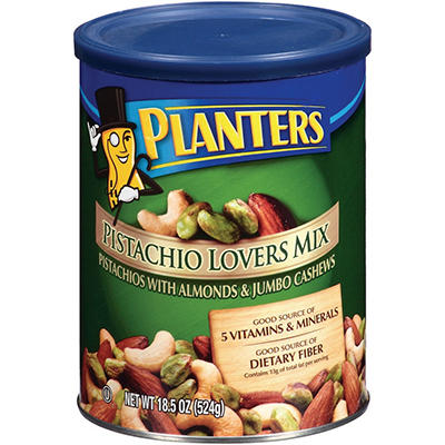 Planters Pistachio Lovers Mix - 18.5 oz.